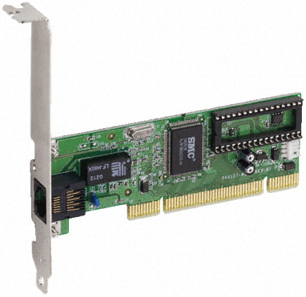 Smc networks fast ethernet 32-bil pci 10/100 mbps smc1255tx-1.