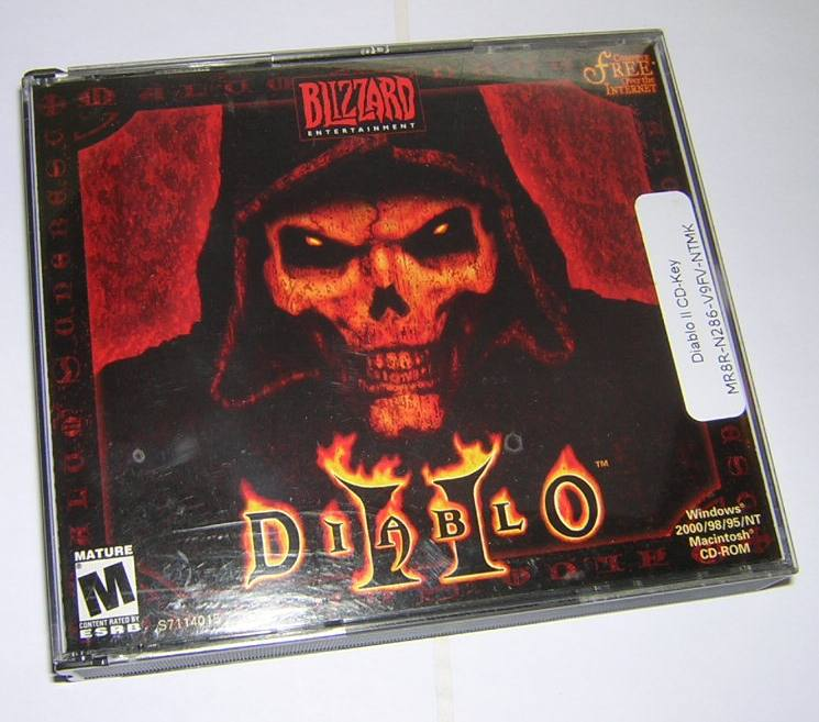 Blizzard's Diablo II 2 Role Playing Game RPG Windows PC CD ROM 2000 020626709293 | eBay
